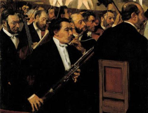 Perché gli orchestrali non sorridono?